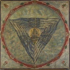 Yantra. The symbol of Feminine energy-strength, power and clarity.