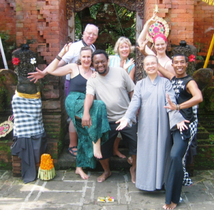 Gaye  in Bali, Indonesia/Global Healing Conference